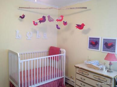 Lyla's baby nursery