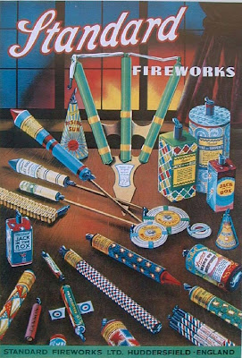 Vintage Fireworks Posters and Labels for The Fourth of July (20)