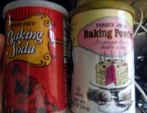 I love Trader Joe's baking SODA in a can like baking Powder!